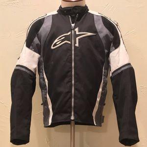 Alpinestars Motorcycle Air Mens Large Black Jacket